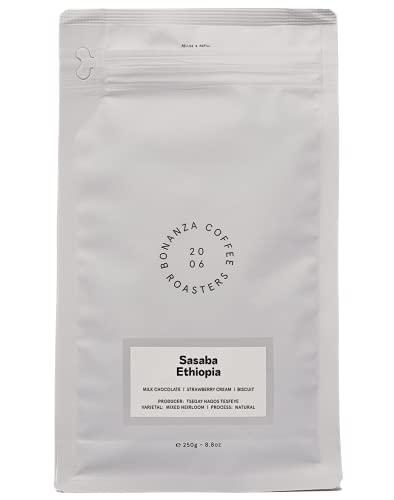 BONANZA COFFEE | Äthiopien | 100% Arabica | Sasaba | Specialty Coffee | Ideal für Filterbrühmethoden | 250g