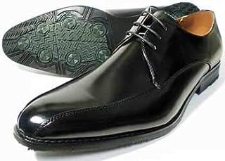 [エスメイク] S-MAKE スワールモカ ビジネスシューズ 防滑ソール 黒 ワイズ(足幅)/3E(EEE) 27.5cm、28cm(28.0cm)、29cm(29.0cm)、30cm(30.0cm) 【大きいサイズ(ビッグサイズ) 紳士靴】