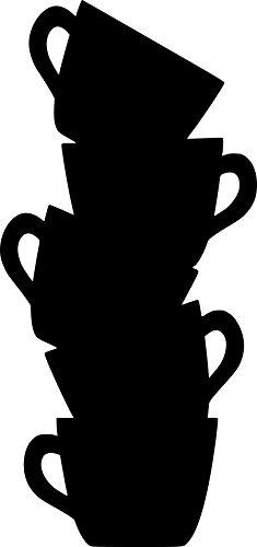 Tazas café – Pizarra pizarrón frigorífico cocina