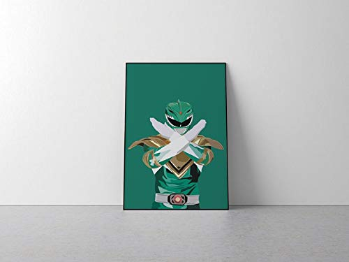 Póster de Power Rangers Inspirado en Power Rangers, impresión artística de Power Rangers, Power Rangers, Super Hero A0 - 841x1189mm
