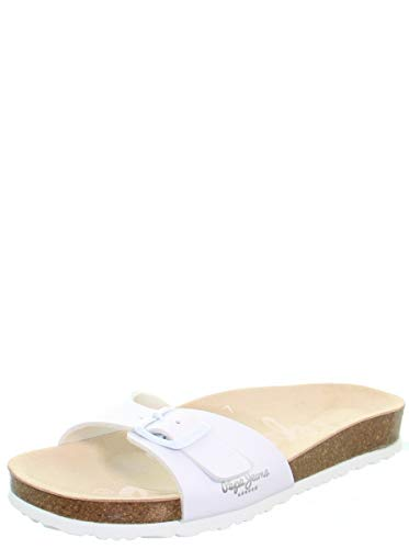 Mules Oban blanches - 40, Blanco