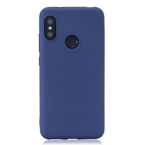 Cover per XIAOMI Redmi 6 PRO Mi A2 Lite Royal Blue TPU Flessibile Morbida Ultra Sottile Anti Graffio HD Case Custodia Compatibile Smartphone