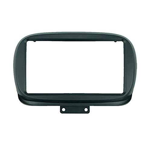 binbin 2 DIN 9 Pulgadas Coche Radio Fascias FIT FOR FIAT 500x 2014+ Dashboard Frame ABS PC Instalación DVD GPS MP5 Android Multimedia Player (Color Name : U0271 Only Frame)