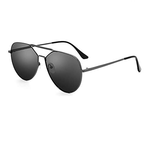 Miduer Gafas De Sol para Hombre Gafas De Sol para Hombre, Gafas De Sapo Especiales para Conducir, Espejo De Conducción Polarizado, Gafas De Sol para Hombre, Deportista, Polarizado De Alta Definición