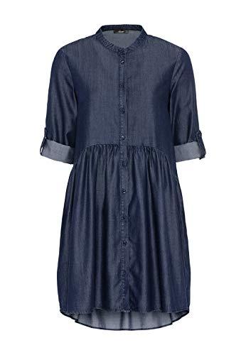 HALLHUBER Hängerkleid aus Tencel™-Denim weit geschnitten Dark Blue Denim, 42