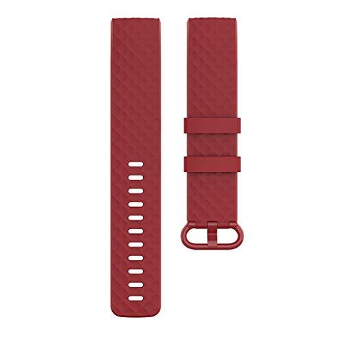 YOKING Fit-bit Cha-RGE 4 - Correa de repuesto para reloj inteligente y pulsera para hombre