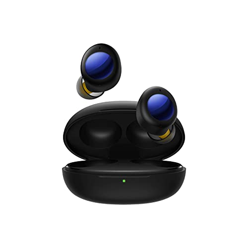 realme Buds Air 2 Neo Wireless Earbuds, Bluetooth Earbuds ANC, Wireless Headphones Fast Charge & 28hrs Total Playback, Bluetooth Headphones IPX5 Waterproof for Android & Apple with Charging Case(B)