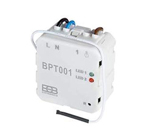 Infranomic BPT001 Unterputzempfänger einzeln Empfänger, weiß