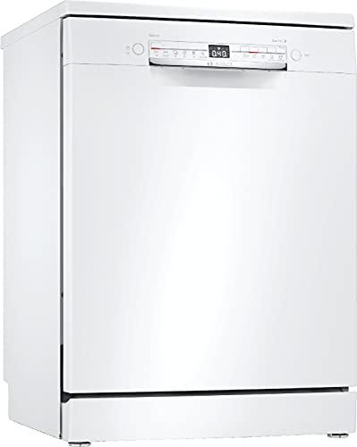 Bosch Elettrodomestici SMS2HTW54E Serie 2, Lavastoviglie da libero posizionamento, 60 cm, bianco