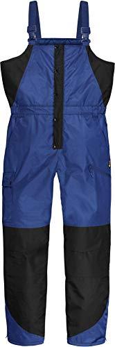 normani Winter Thermohose Regenhose mit Hosenträgern rundum Wetterschutz Dank hochgeschnittener Taille Farbe Marine Größe XXL