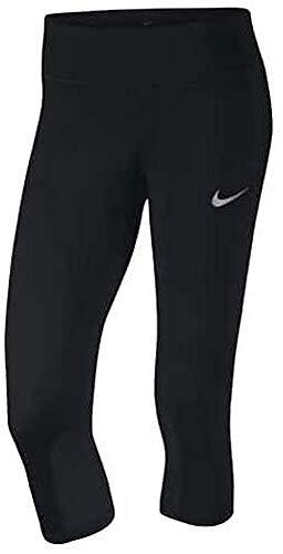 Nike Damen Epic Run Caprihose, Black, XL