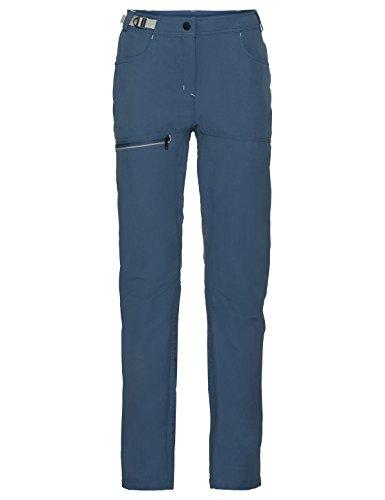 VAUDE Women's Tekoa Pants, Fjord Blue, Size 40