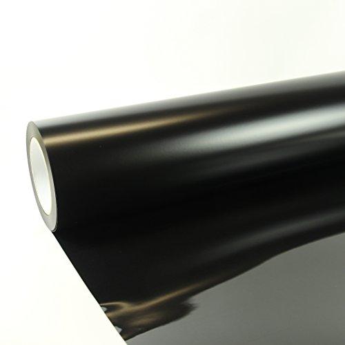 22,00€/m² 1m x 0,5m Poli-Flex Premium Folie Schwarz 402 Flexfolie Buegelfolie Poli-Flex