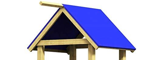 Gartenwelt Riegelsberger Dachplane 115 x 185 cm für Spielturm Spielhaus - Ersatzteil Abdeckplane Abdeckung Plane Dachfolie