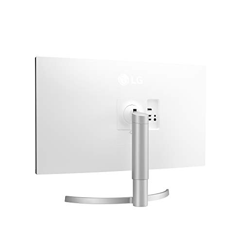 LG 32UN550-W 32-Inch UHD (3840 x 2160) VA Monitor with HDR 10, AMD FreeSync and Itle/Height Adjustable Stand (31.5