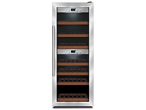 Profi Weinkühlschrank, 38 Flaschen, 3-22° C , 2 getrennte Temperaturzonen, GGG WK650