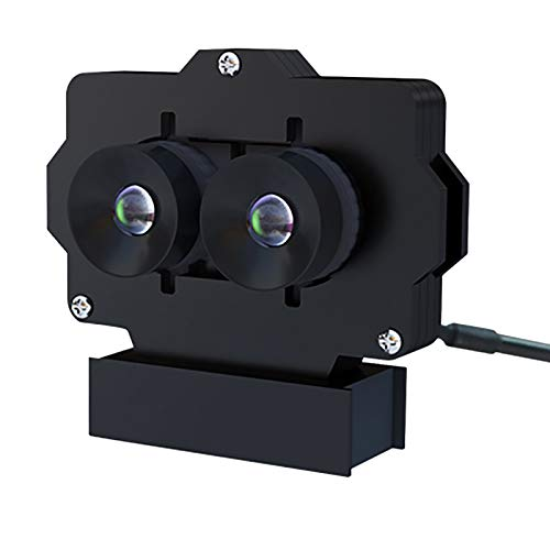 Mogzank Videocamera Binoculare USB di Seconda Generazione VR HD Machine Image Sincronizzazione Video Trasmissione di Immagini MJPEG Grandangolare 3D