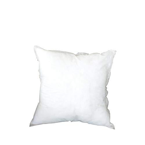 Yywl - Cojín de fieltro, diseño de núcleo interior, color blanco