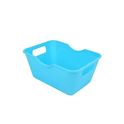 ZWWZ Cosmetic Bag Organizer Office Desktop Aufbewahrungsboxen Einfache Makeup Organisator-Aufbewahrungsbehälter PVC Kunststoff Heim Tabelle Raumspar Kasten Großhandels-Hot Pink- HAIKE