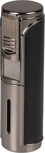PASSATORE 5 Flamme Jet Cigarrenfeuerzeug Giant mit Zigarrenbohrer inkl. Lifestyle-Ambiente Tastingbogen