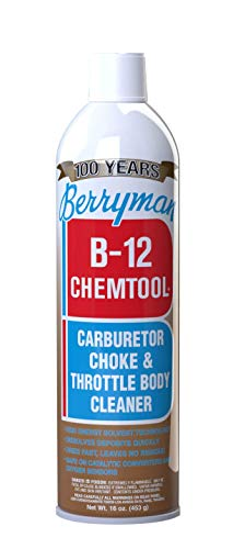 Berryman Products 0117 B-12 Chemtool Carburetor, Choke and Throttle Body Cleaner [Not VOC Compliant in Some States], 16-Ounce (117)