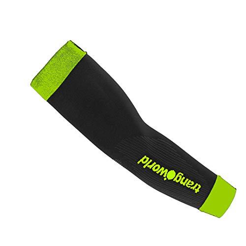 Trango® pc008043Schwimmflügel, Unisex Erwachsene L schwarz/grün (Lima)