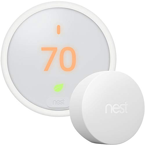 Google Nest Thermostat E - Programmable Smart Thermostat for Home T4000ES -...