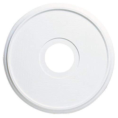 Westinghouse Lighting 77035 7703500 Lighting Ceiling Medallions, Molded Plastic, 16 Inch Dia, 15-3/4', White Finish