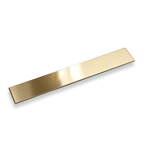ペーパーナイフ用 真鍮板
