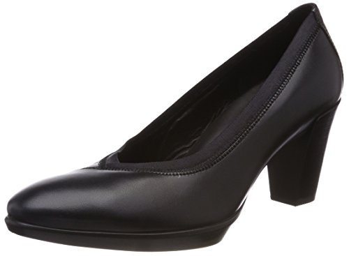 ECCO Damen Shape 55 Plateau Stack Pumps, Schwarz (Black), 39 EU
