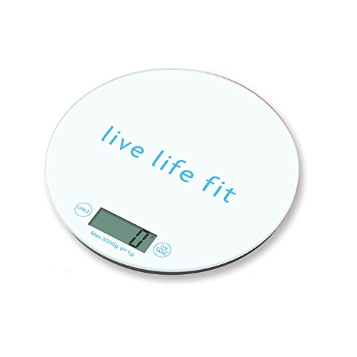 Fitlosophy Kitchen Food Scales by Volto a Healthy Nutrition Portion Control