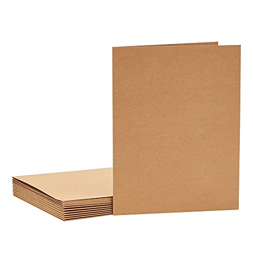 Kraft Paper Folders for Office and School Twin Pockets (12 x 9.25 in 12 Pack)