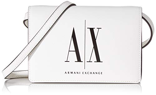 Armani Exchange dames Icon Cross Body Bag schoudertas, 13x5x18 cm
