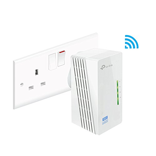 TP-Link TL-WPA4220 2-Port Add-On Powerline Adapter, Range Extender,...