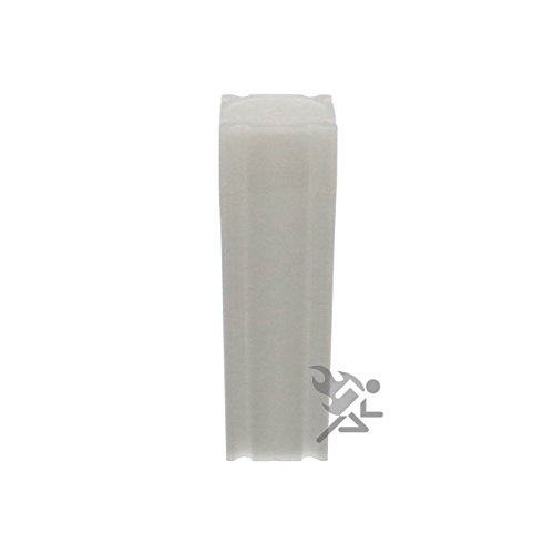 Square Nickel Coin Tube(Qty=100 Tubes)