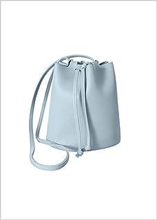 Miniso Crossbody Bag(Blue) CrossBody Shoulder Bag Purse PU Leather Messenger Bag Sling Bag with Tassel Tote Purse Fashion Handbag for Women Teen Girls.