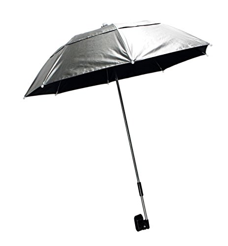 Guerrilla Painter Soft-Clamp Deluxe Vented Silver Umbrella Kit