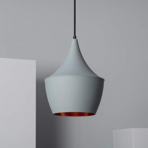 LEDKIA LIGHTING Lampada a Sospensione Mercury Grigio