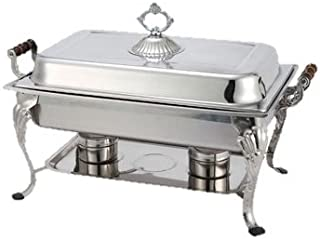 Winco Crown Chafer Oblong 8 qt