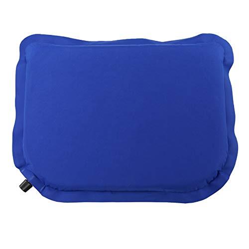 ALPIDEX Selbstaufblasendes Camping Sitzkissen 40 x 30 x 3,8 cm Stadion Kissen Outdoor Thermokissen Sitzmatte Ultraleicht, Farbe:Balance Blue