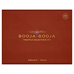 Includes: Fine de Champagne, Cherry Cognac, Rum Sozzled Sultana & Around Midnight Espresso Chocolate Truffles. Suitable for vegans & vegetarians Dairy free, gluten free, soya free Organic