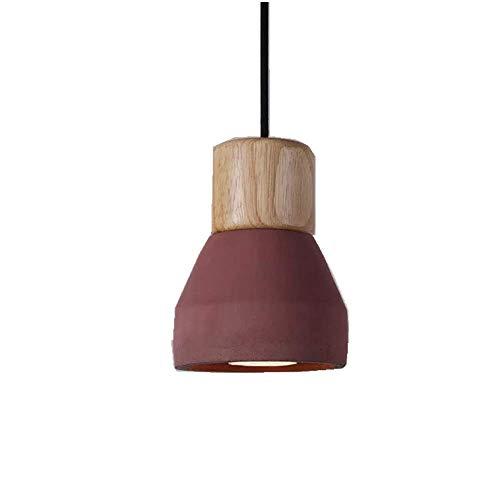 BrightBulb Moderno Moda Ahorcamiento Luz Titular Colgante Luz Candelabro Ahorcamiento Lámpara-Rojo