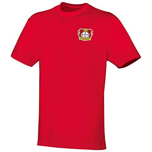 JAKO Herren Team Bayer 04 Leverkusen T-Shirt, rot, M