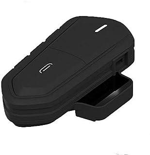 Motorradhelm Headset, SUNWAN Bluetooth Intercom Kopfhörer, kabelloses wasserdichtes wiederaufladbares Motorrad Headset mit Mikrofon FM Radio MP3