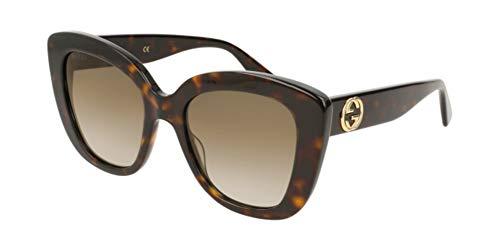Gucci GG0327S-002 Occhiali da Sole, Havana, 52.0 Donna