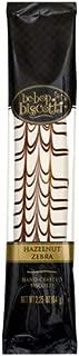 Be-Bop Biscotti Hazelnut Zebra Hand-Crafted Biscotti, 2.25 oz, (Pack of 12)