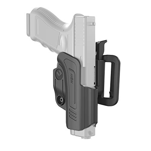 Orpaz Compatible with Glock 19 Holster Optics Compatible Level II OWB Belt Holster