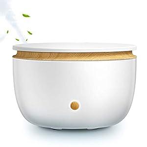DINGYUFA Difusor de Aire bebé humidificador Aroma Aceite Esencial de Difusores de Madera Escritorio aromaterapia nebulizador Olor para el Dormitorio Sala de Estar