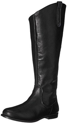 Sebago Damen Plaza Tall Boot Reitstiefel, Schwarz (Black Leather), 37 EU