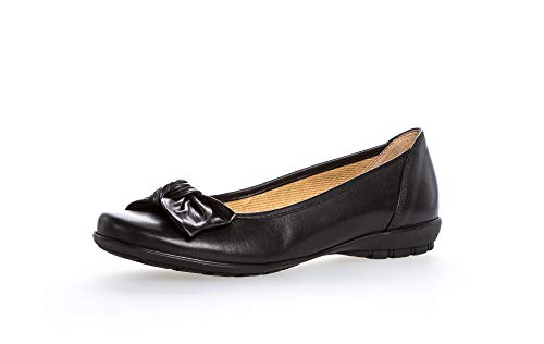 Gabor Shoes Gabor Casual, Damen Geschlossene Ballerinas, Schwarz (schwarz 27), 38.5 EU (5.5 UK)